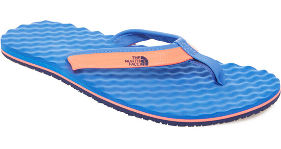 The North Face Base Camp Mini Flip-Flops Women Tropical Coral/Blue